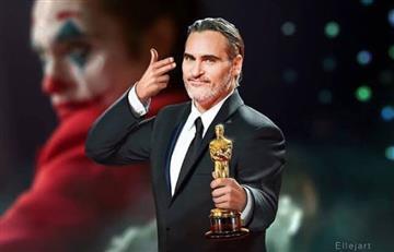 Joaquin Phoenix se lleva el Premio Óscar a mejor actor
