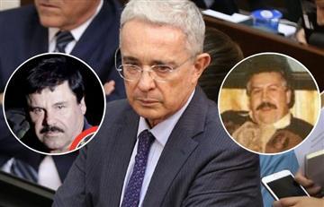 Las pruebas que relacionarían a Uribe con 'Escobar' y 'El Chapo'