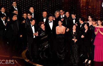 """""""Parasite"""" arrasa en los Óscar y se lleva el premio a mejor película"""