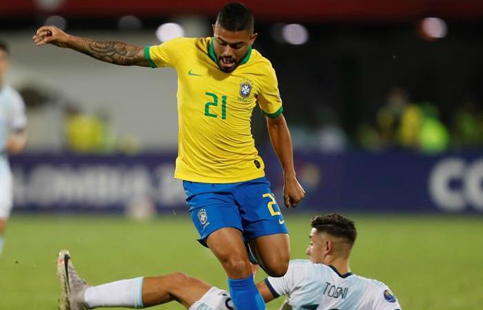Brasil clasifica a Tokio 2020 tras derrotar a Argentina -. Foto: EFE