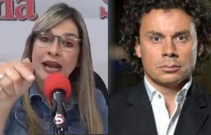 Discusión Vicky Dávila Hassan Nassar Avión presidencial