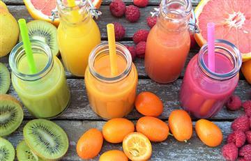 3 jugos naturales para adelgazar en poco tiempo
