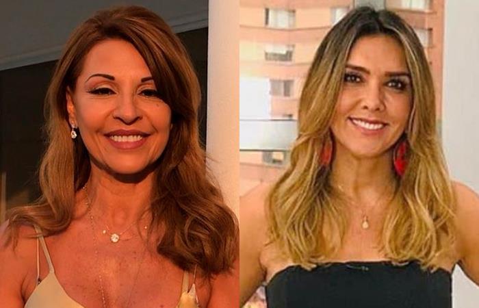 Discusión de Amparo Grisales y Mónica Rodríguez por avión presidencial