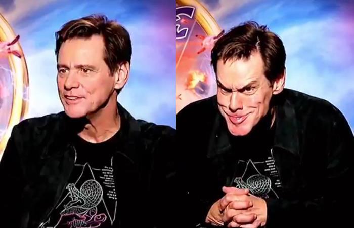 """Jim Carrey participa en la película de """"Sonic"""". Foto: Twitter"""