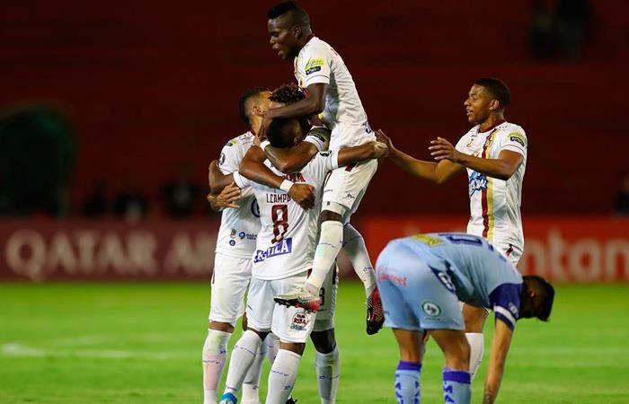 Resultado partido Tolima Macará Copa Libertadores