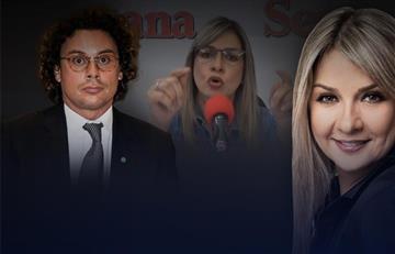 Vicky Dávila se disculpa por fuerte enfrentamiento en vivo con Hassan Nassar