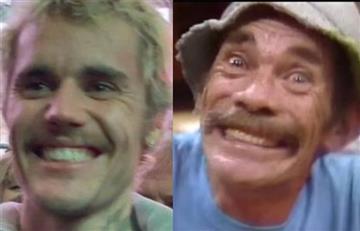 Comparan a Justin Bieber con 'Don Ramón' por su drástico cambio de look