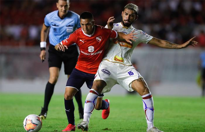 Copa Sudamericana Resultado Independiente Fortaleza Andrés Felipe Roa