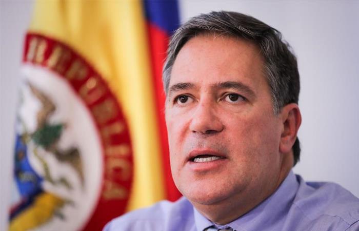 Fernando Sanclemente, embajador de Colombia en Uruguay. Foto: EFE