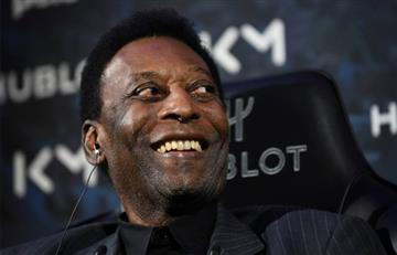 Pelé desmintió los rumores de su supuesta depresión