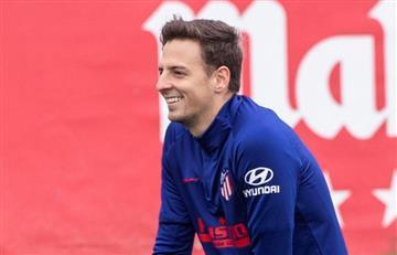 'Santi' Arias fue convocado por Simeone para el crucial juego ante Valencia