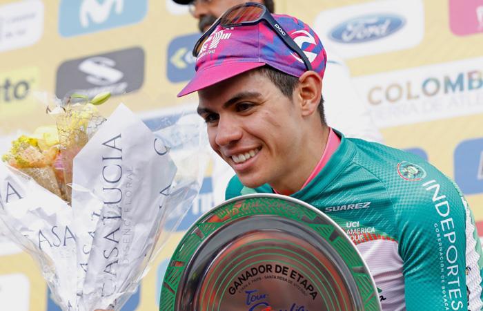 Resultados etapa 4 Tour Colombia ganador Sergio Higuita