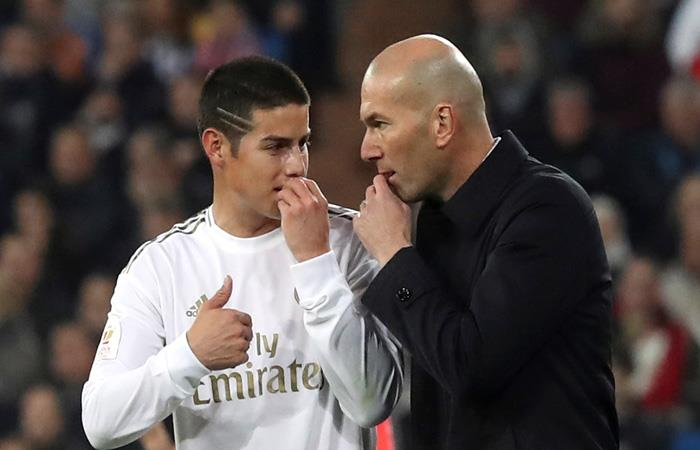 LaLiga Convocatoria Real Madrid vs Celta de Vigo James Rodríguez