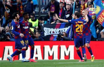 Barcelona sufrió más de la cuenta para derrotar a Getafe