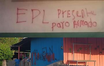 Paro armado, consecuencia del conflicto entre el ELN y EPL en el Catatumbo