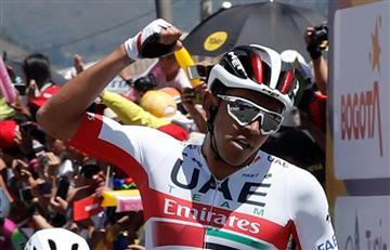 [VIDEO] Juan Sebastián Molano triunfó en la quinta etapa del Tour Colombia