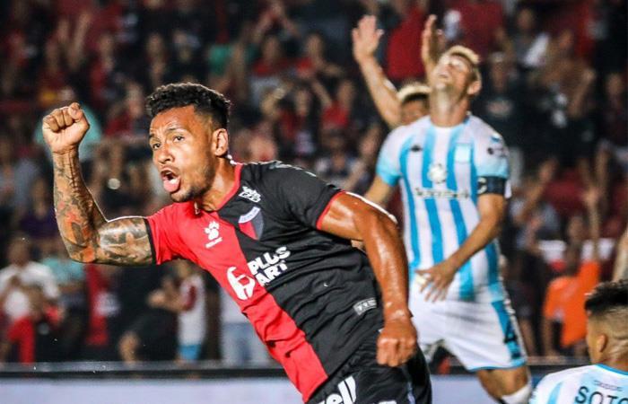 Superliga Argentina Racing Club colón de Santa Fe Wilson Morelo gol