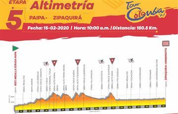 Sigue EN VIVO la quinta etapa del Tour Colombia con la mejor narración