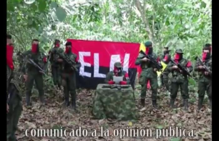 La guerrilla sigue usando vías de hecho para llamar la atención. Foto: Twitter