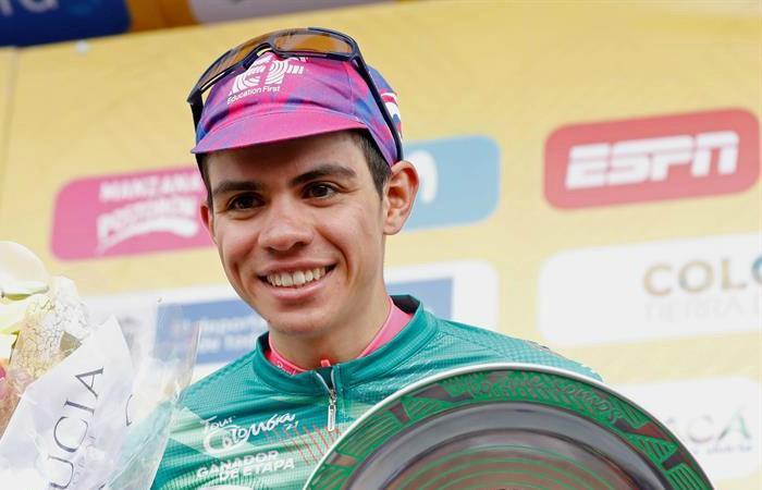 Tour Colombia 2020 ultima etapa Sergio Higuita Egan Bernal Richard Carapaz