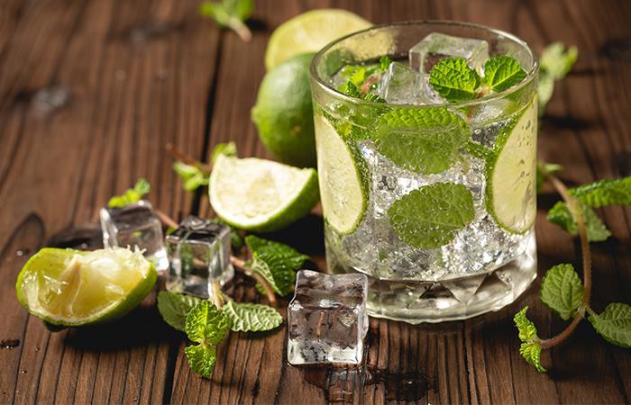 Agua con limón ayunas