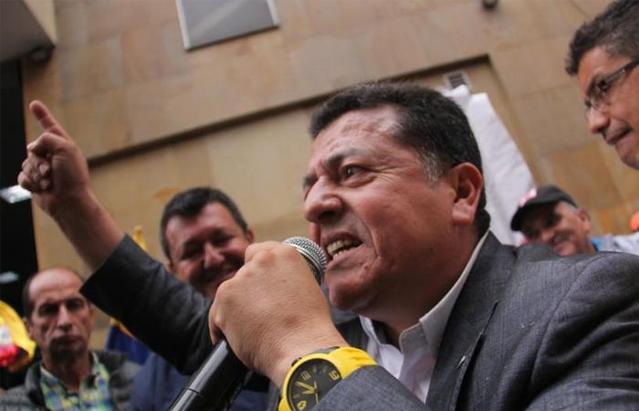 Hugo Ospina Paro Taxistas contra Beat Didi