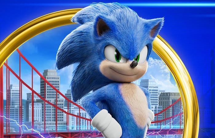Sonic llegó para acaparar las salas de cine del mundo. Foto: Twitter