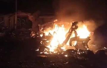 [VIDEO] Explosión de un bus deja siete muertos en el Cauca