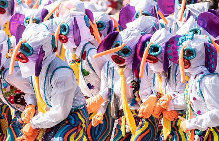 Prepárate para disfrutar el Carnaval de Barranquilla. Foto: Shutterstock