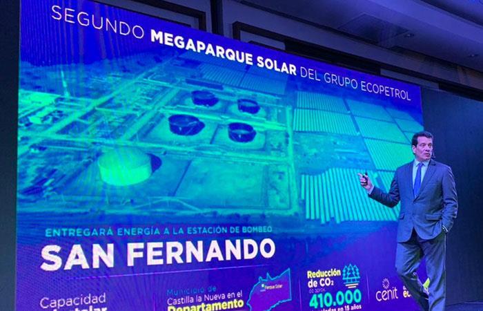 Ecopetrol centro de energía solar Colombia
