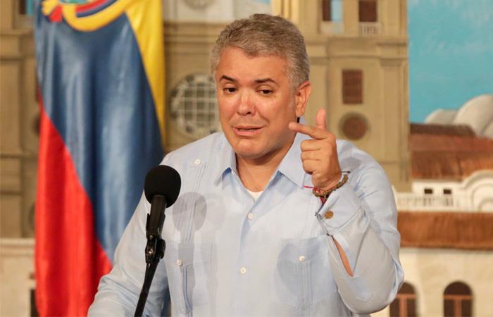 Iván Duque también opinó sobre el aborto en Colombia. Foto: EFE