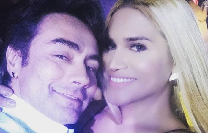 Mauro Urquijo y María Gabriela Isler. Foto: Instagram