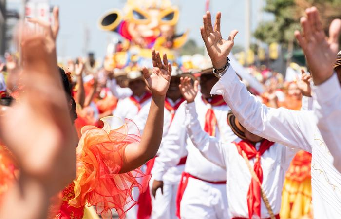 El Carnaval de Barranquilla se realizará del 22 al 25 de febrero de 2020. Foto: Shutterstock