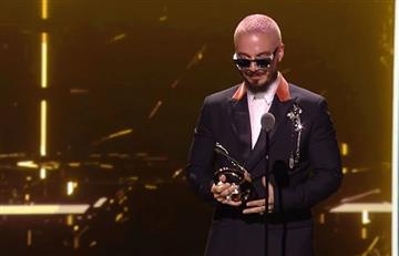 J Balvin fue homenajeado en Premio Lo Nuestro