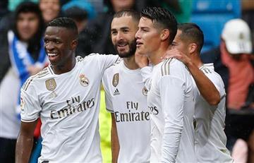 James Rodríguez 'desbancó' a Bale y podría jugar ante Levante