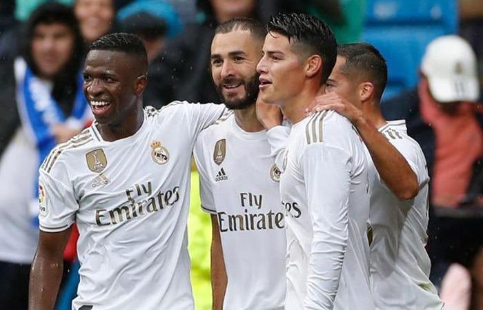 LaLiga Convocatoria Real Madrid vs Levante James Rodríguez