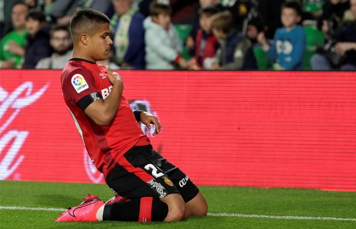 LaLiga Gol Cucho Hernández Real Betis vs Mallorca