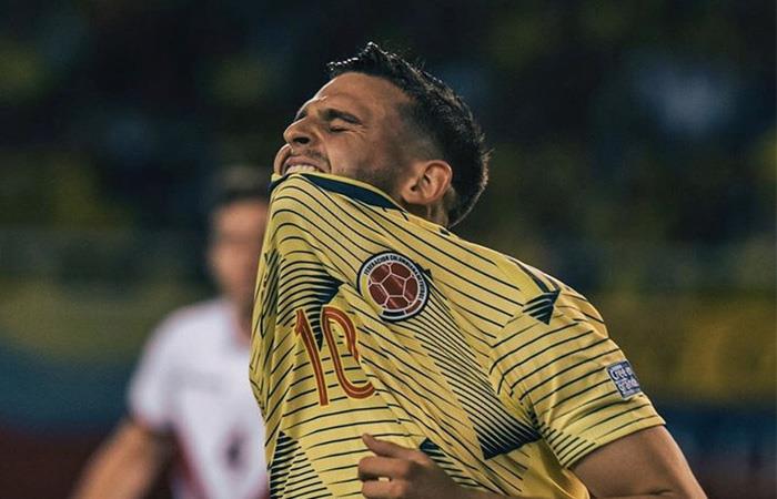Nicolás Benedetti se lesiono con la Selección Colombia. Foto: Twitter