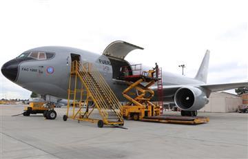 Avión de la FAC partió a China para repatriar colombianos en riesgo de contraer coronavirus