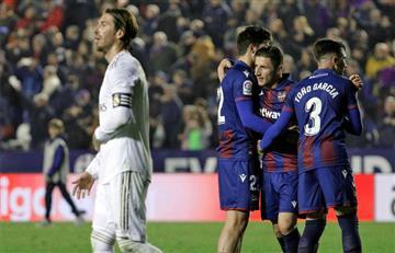 Sin James en la cancha, Real Madrid perdió el liderato de la Liga de España