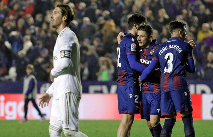 LaLiga Resultado Levante vs Real Madrid James Rodríguez