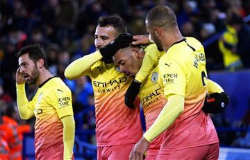 Agárrate Real Madrid: El City derrotó a Leicester en el partidazo de la fecha