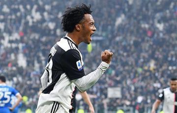 [VIDEO] Cuadrado asiste a Cristiano en la victoria de Juventus