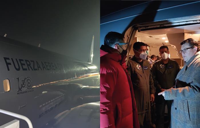 Aterriza en Corea del Sur el avión que repatriará a colombianos en Wuhan