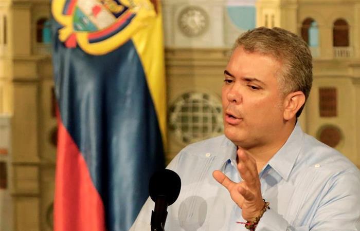 Iván Duque, presidente de Colombia. Foto: EFE