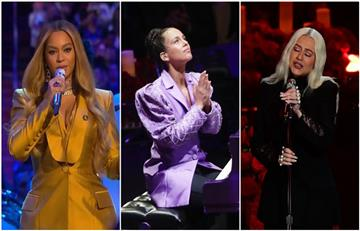 Emotivo tributo de Beyoncé, Alicia Keys y Christina Aguilera a Kobe Bryant en funeral público
