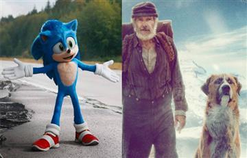 """""""The Call of the Wild"""" no pudo destronar a """"Sonic"""" en las taquillas de cine"""