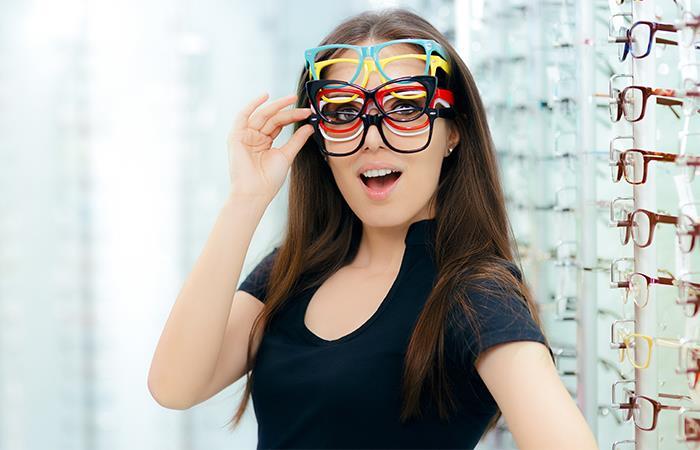 ¡Escoge la talla correcta de gafas!