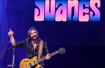 """""""He madurado, ahora entiendo más la vida y disfruto de cada concierto"""": Juanes"""