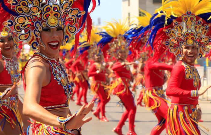El Carnaval de Barranquilla finalizó con gran éxito. Foto: EFE